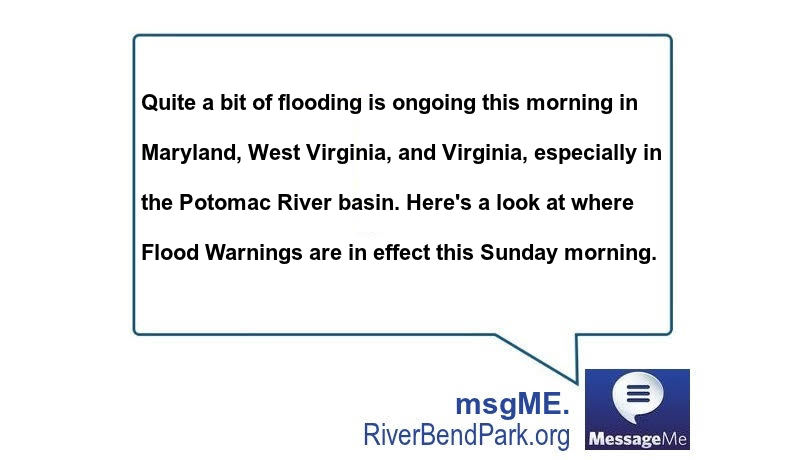 Quite a bit of flooding is ongoing this morning